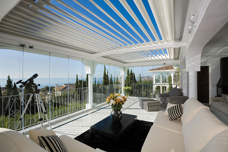 Opening Patio Roof System - Patio Designs